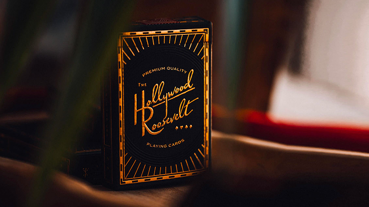 The Hollywood Roosevelt Playing Cards - theory11