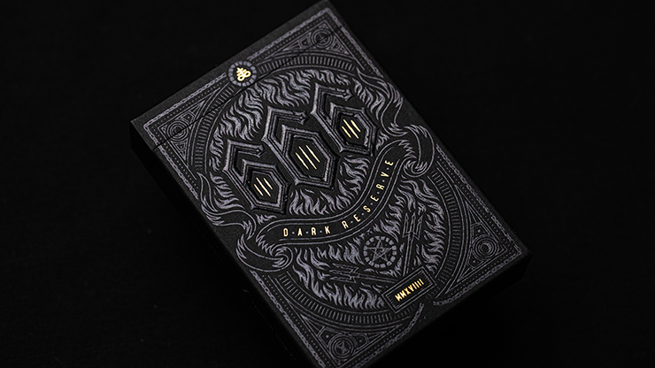 666 Dark Reserves (Gold Foil) Playing Cards