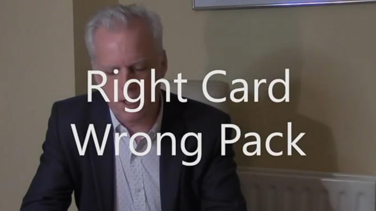 Right Card -  Wrong Pack by Brian Lewis video DOWNLOAD