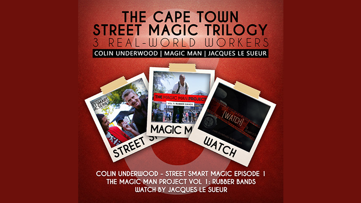 The Cape Town Street Magic Trilogy by Magic Man, Colin Underwood and Jaques Le Suer video DOWNLOAD