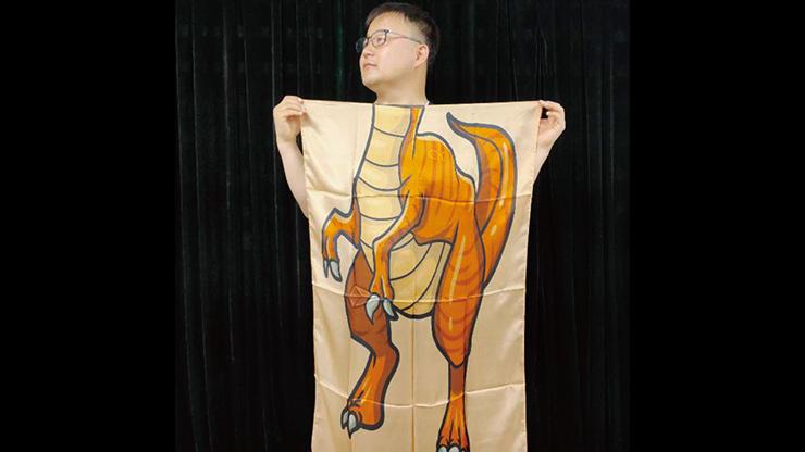 Character Silk (Dinosaur) 35 X 43  - JL Magic