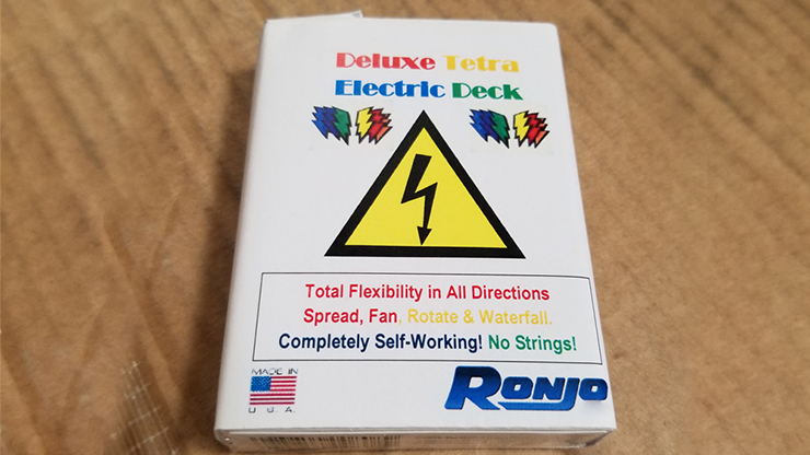 ELECTRIC DECK DELUXE - TETRA 4 COLOR FANNING