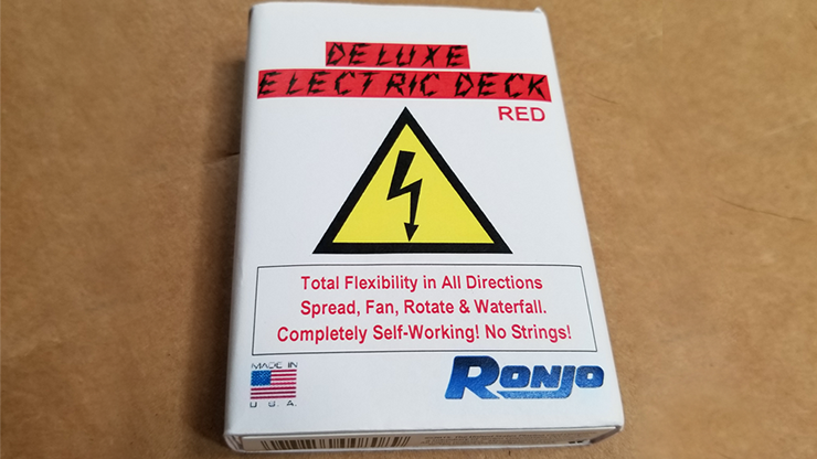 ELECTRIC DECK DELUXE (Red) by Ronjo - Trick
