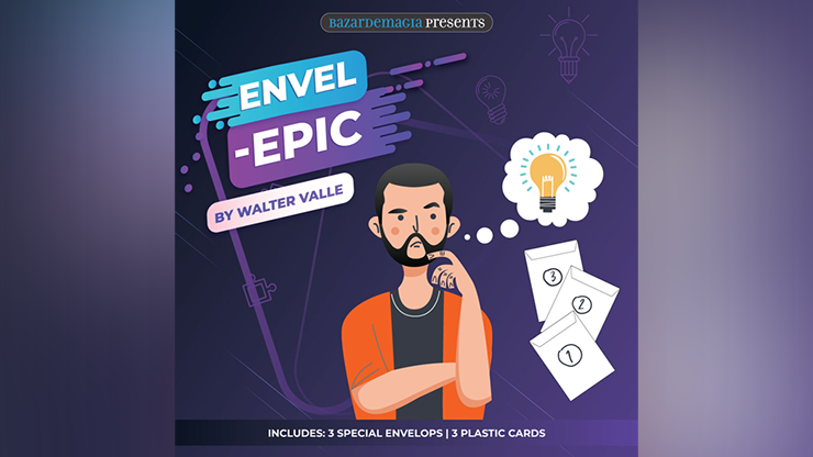 Envel  Epic (Gimmicks and Online Instructions) - Bazar de Magia