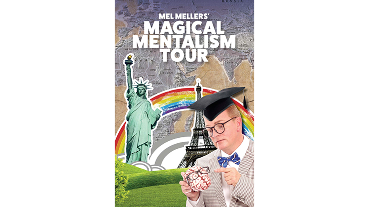 The Magical Mentalism Tour - Mel Mellers  Book