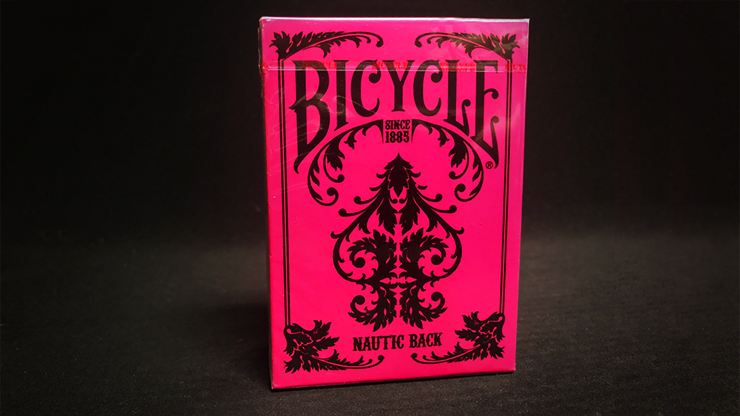 Bicycle Nautic Pink Playing Cards - US Playing Card Co