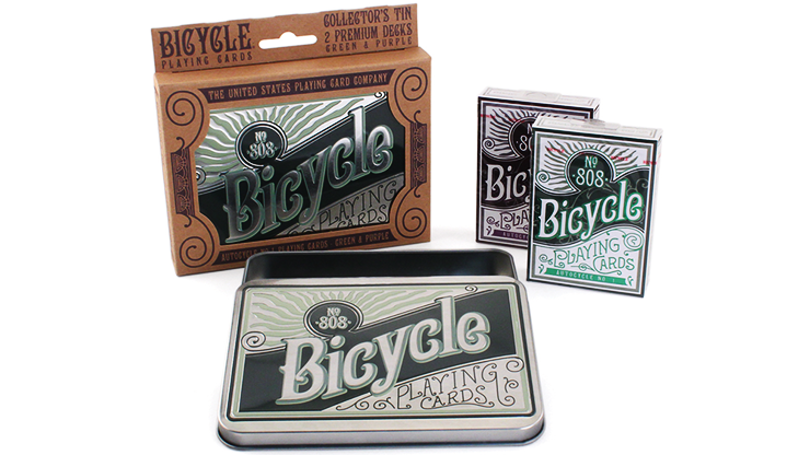Bicycle Retro Tin Playing Cards - US Playing Card Co