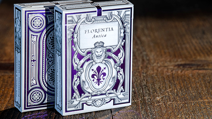 Florentia Antica Playing Cards by Elettra Deganello