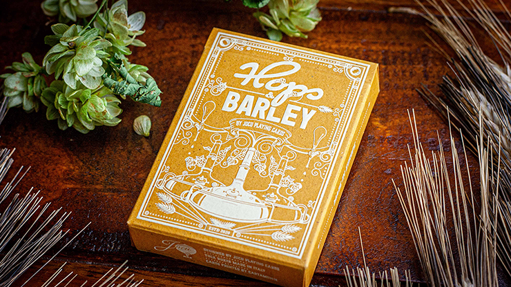 Hops & Barley (Pale Gold Pilsner) Playing Cards - JOCU Playing Cards