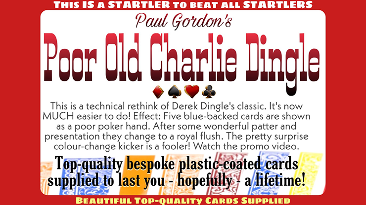 Poor Old Charlie Dingle - Paul Gordon