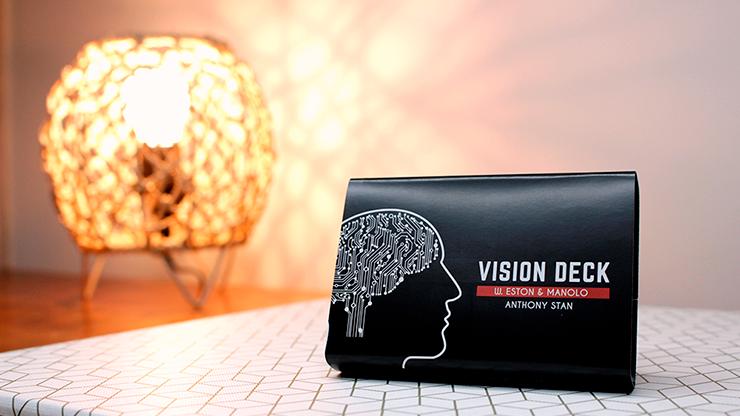 Vision deck Blue by W.Eston, Manolo & Anthony Stan - Trick