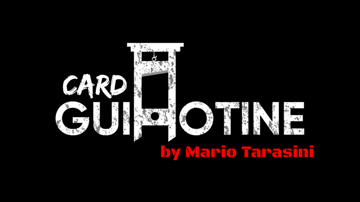 Card Guillotine by Mario Tarasini video DOWNLOAD