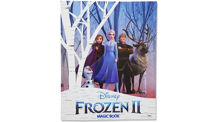 Magic Coloring Book (Frozen) - JL Magic