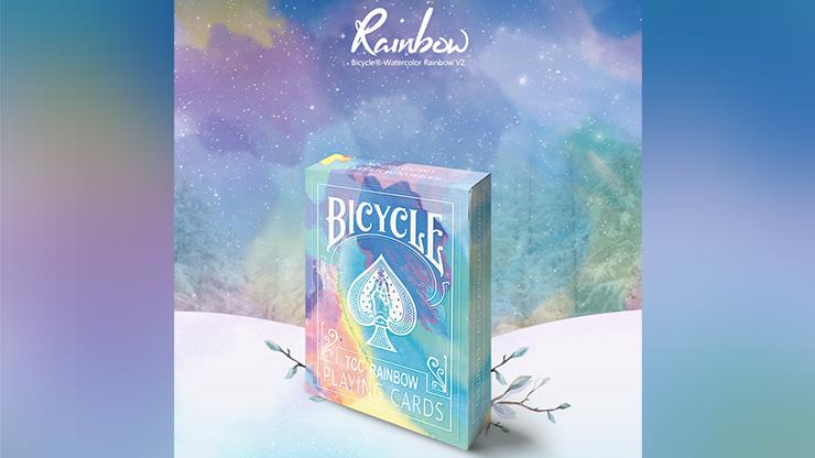 Carti de joc Bicycle Rainbow (Cedar)