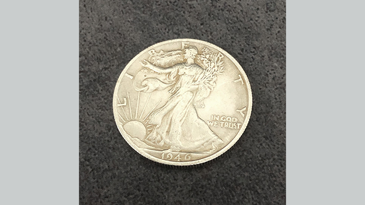 POWER COIN (Walking Liberty) - Himitsu Magic