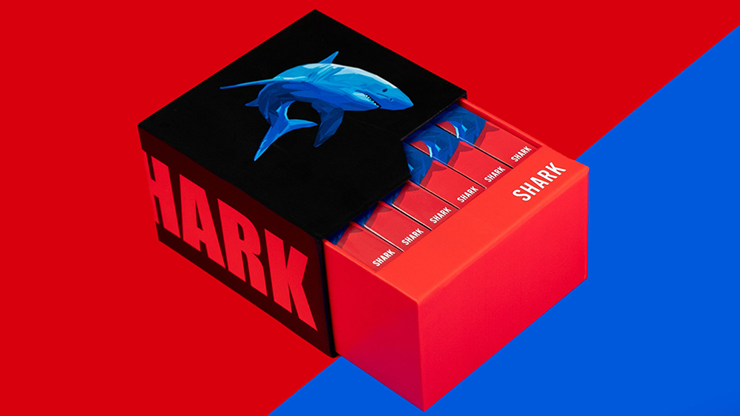6 Shark Playing Cards (Free 6 Box Case Included) - Riffle Shuffle