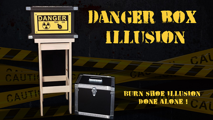 DANGER BOX ILLUSION (Full Set) - Magie Climax