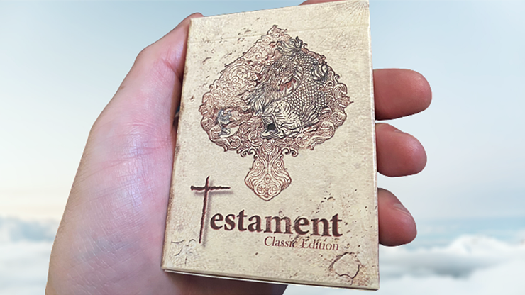 Testament Playing Cards
