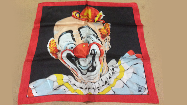 Rice Picture Silk 18 (Circus Clown) - Silk King Studios