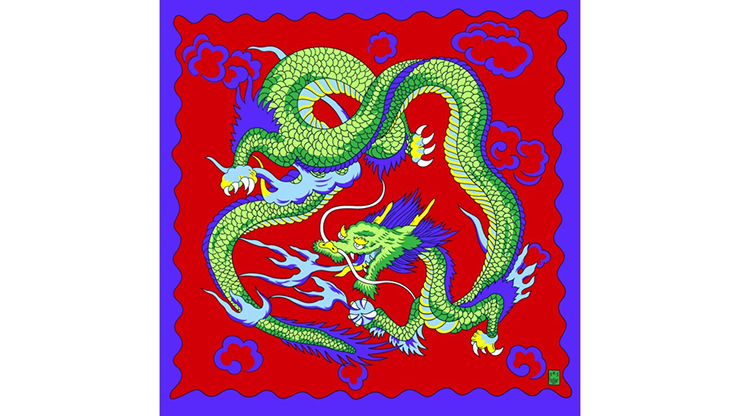 Rice Picture Silk 18 (Imperial Dragon) - Silk King Studios