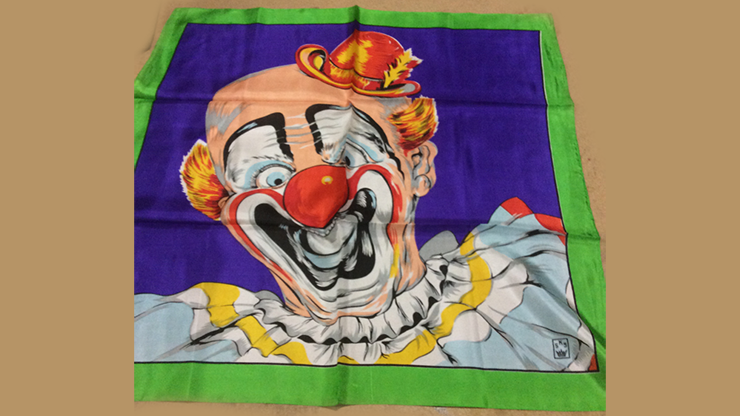 Rice Picture Silk 27 (Circus Clown) - Silk King Studios