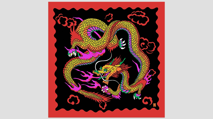Rice Picture Silk 36 (Imperial Dragon) - Silk King Studios