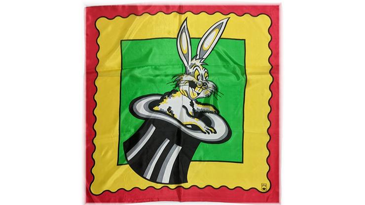 Rice Picture Silk 27 (Rabbit in Hat) - Silk King Studios