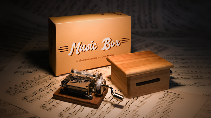 MUSIC BOX Standard (Gimmicks and Online Instruction) - Gee Magic