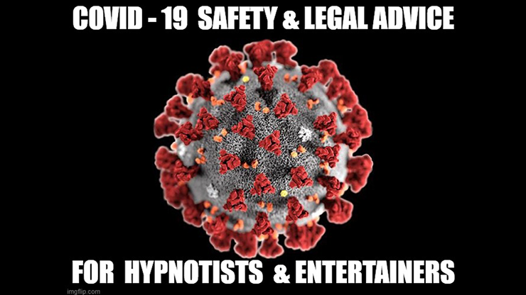 "CORONAVIRUS SAFETY FOR STAGE HYPNOTISTS MAGICIANS & MENTALISTS by Jonathan Royle Stuart ""Harrizon"" Cassels Rich Guzzi & Stuart Gavin Mixed Media DOWNLOAD"