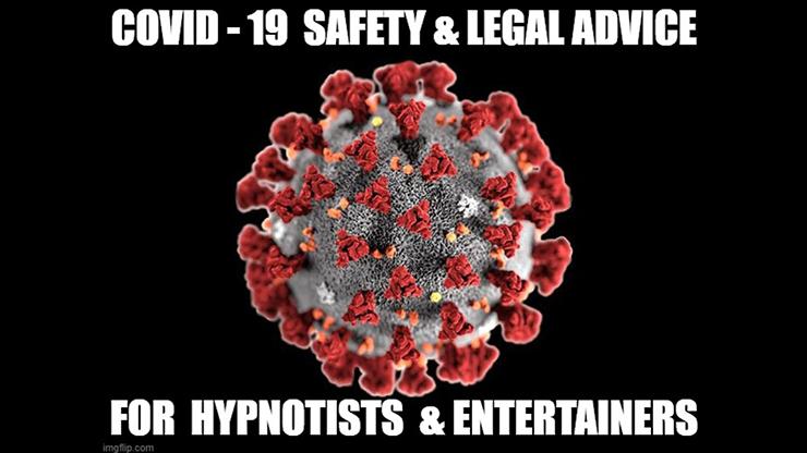 "CORONAVIRUS SAFETY FOR STAGE HYPNOTISTS MAGICIANS & MENTALISTS by Jonathan Royle Stuart ""Harrizon"" Cassels Rich Guzzi & Stuart Gavin Mixed Media DOWNLOAD"
