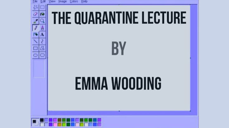 The Quarantine Lecture - Emma Wooding ebook DOWNLOAD