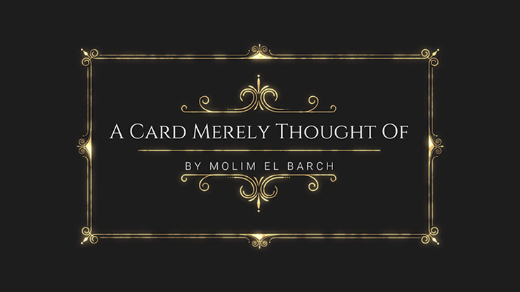 A Card Merely Thought Of - Molim El Barch video DOWNLOAD