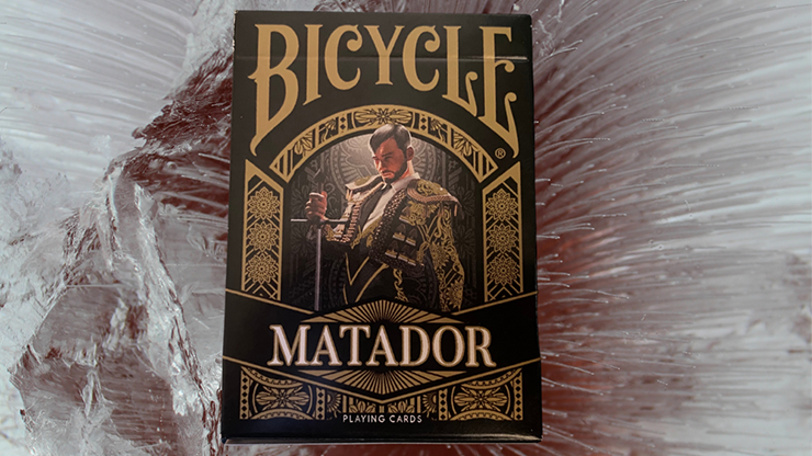 Bicycle Matador (Black) Playing Cards