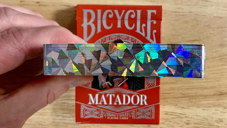 Bicycle Matador (Red Gilded) Playing Cards