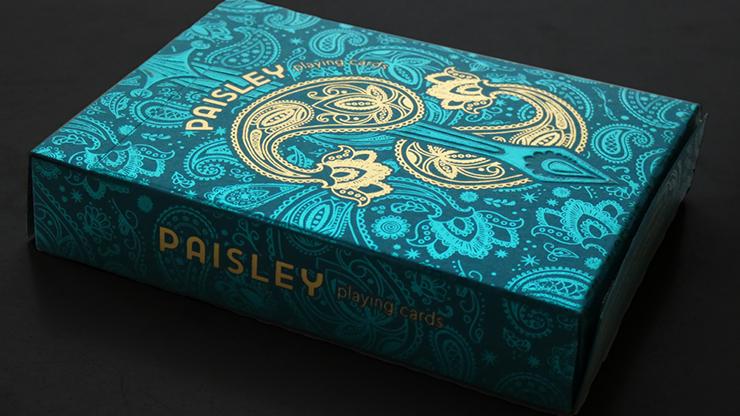 Carti de joc Paisley Royals (Teal)