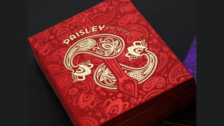 Carti de joc Paisley Royals (Red)