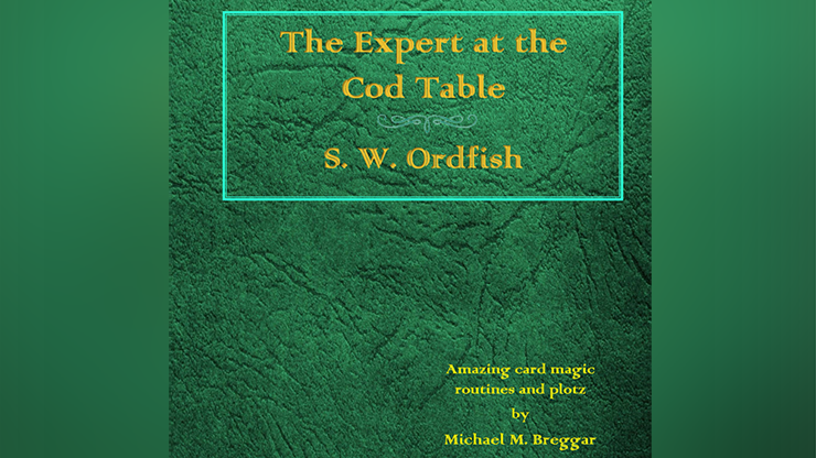 The Expert at the Cod Table by Michael Breggar Mixed Media DOWNLOAD