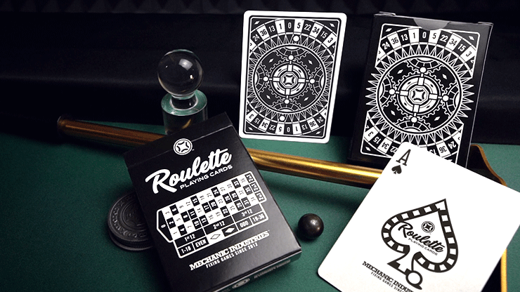 Roulette Playing Cards - Mechanic Industries