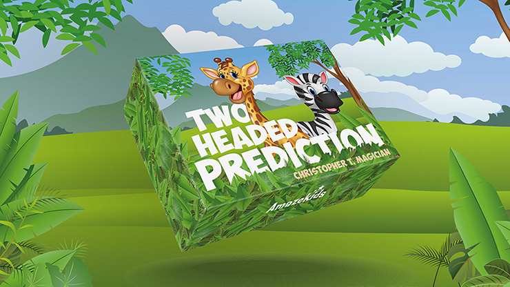 TwoHeaded Prediction (Gimmicks and Online Instructions) - Christopher T. Magician