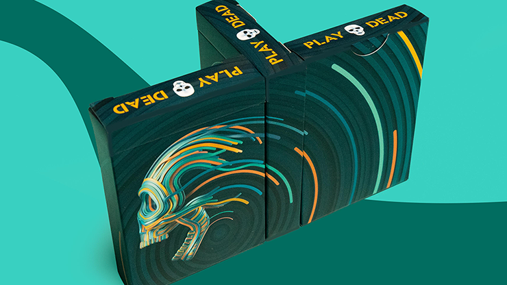 Play Dead V2 Playing Cards - Riffle Shuffle