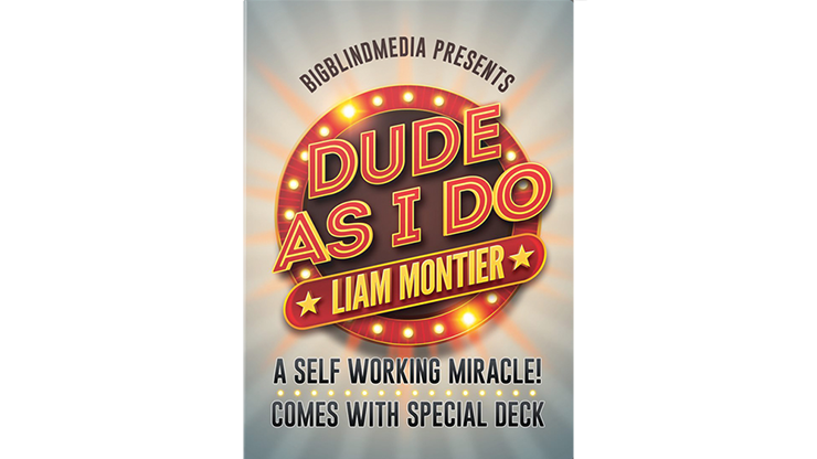Dude as I Do King of Clubs (Gimmicks and Online Instructions) by Liam Montier - Trick