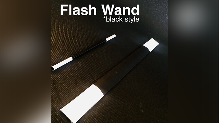 FLASH WAND (BLACK) by Victor Voitko (Gimmick and Online Instructions) - Trick