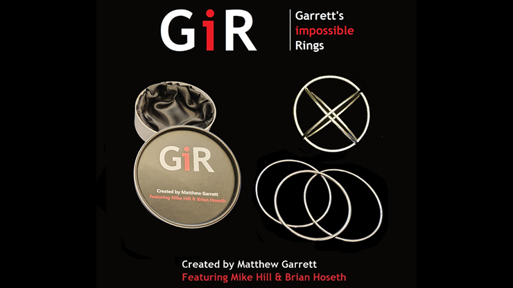 GIR Ring Set (Gimmick and Online Instructions) by Matthew Garrett - Trick