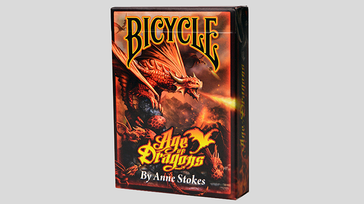 Bicycle Anne Stokes Age of Dragons Playing Cards - USPCC
