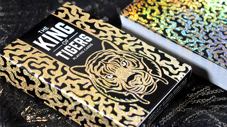 King Of Tiger Playing Cards - Midnight Cards