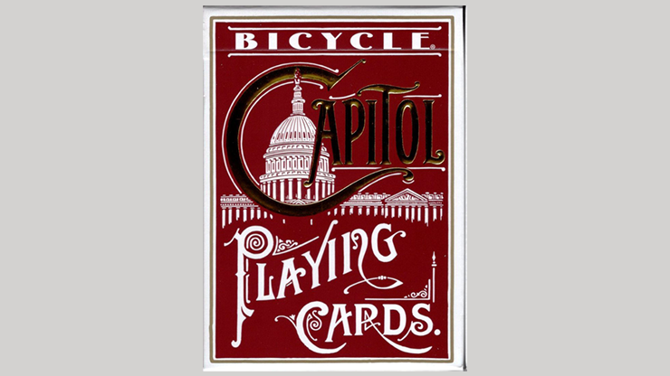 Bicycle Capitol (RED) Playing Cards - US Playing Card