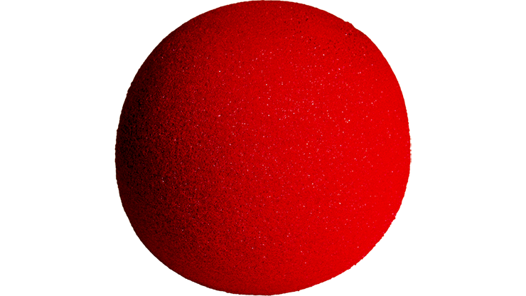 4 inch High Density Ultra Soft Sponge Ball (RED) from Magic - Gosh