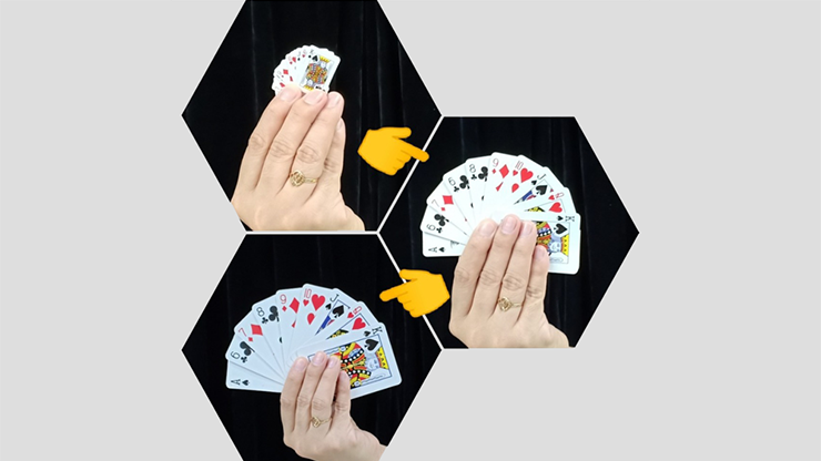 REVERSE CARD by JL Magic - Trick