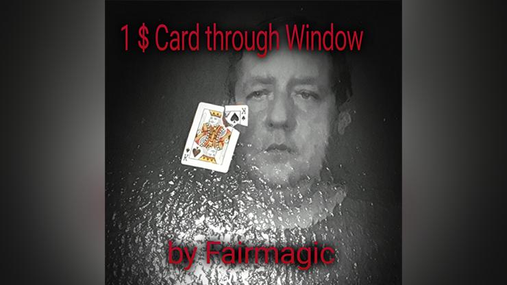 1$ Card Through Window by Ralf Rudolph aka Fairmagic video DOWNLOAD