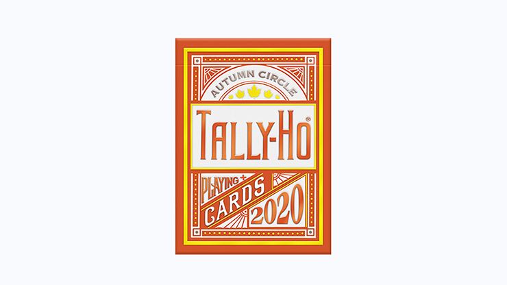 TallyHo Autumn Circle Back Playing Cards